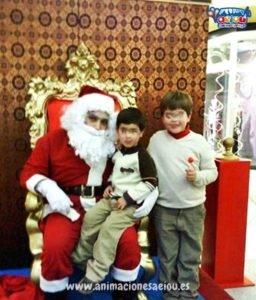 La visita de Papá Noel en Granada