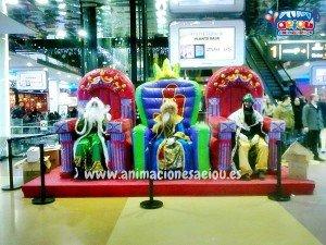 animadores fiestas para niños navidad granada