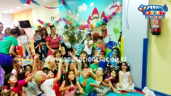 animación fiestas cumpleaños infantiles Granada