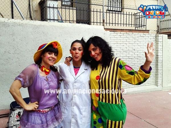 animadores para fiestas de cumpleaños infantiles en Granada