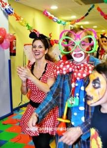Payasos para fiestas de niños Granada
