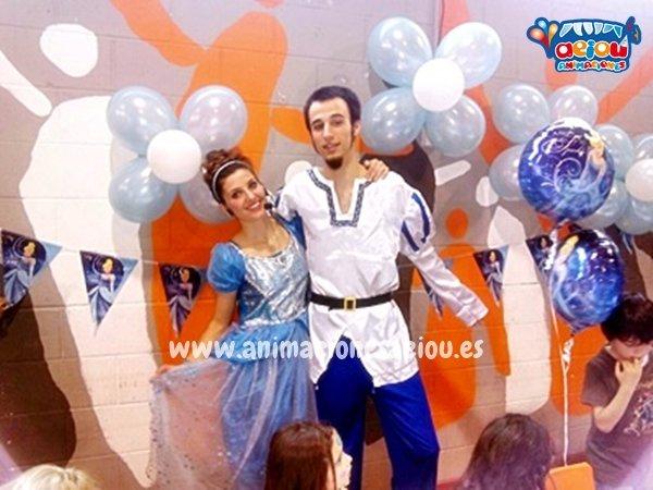 Fiestas de cumpleaños infantiles temáticas de princesas en Granada