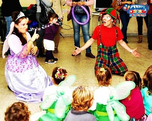 Animaciones para fiestas de cumpleaños infantiles y comuniones en Armilla