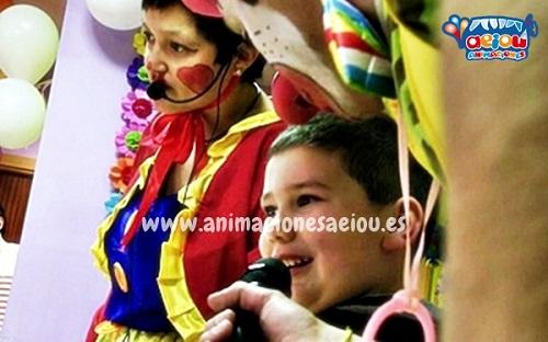 animaciones para fiestas de cumpleaños infantiles y comuniones en Loja